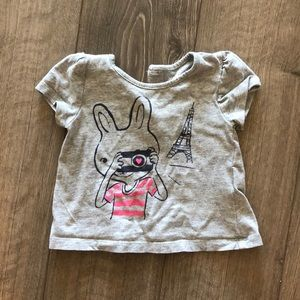 3 for $15 • Parisian shirt baby size 6-12 months